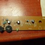 Amplificador extraído de una unidad de cdrom