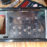 Fixing a broken microwave oven keypad